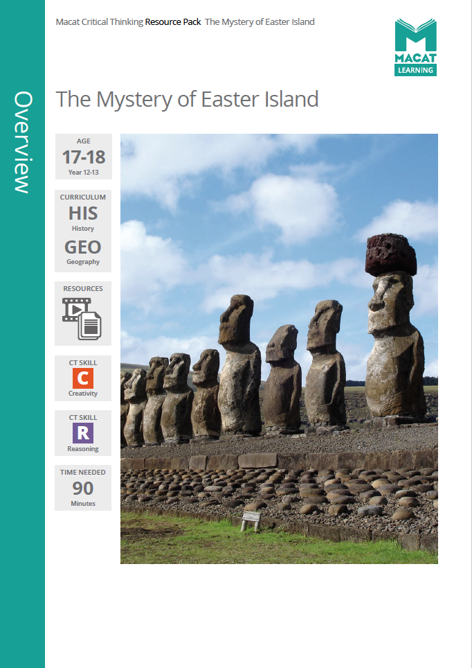 Geography    Also suitable for History   The Mystery of Easter Island   Download >