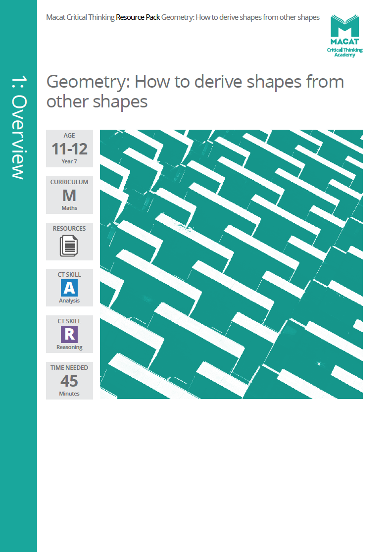 Maths   Geometry: How to derive shapes from other shapes   Download >