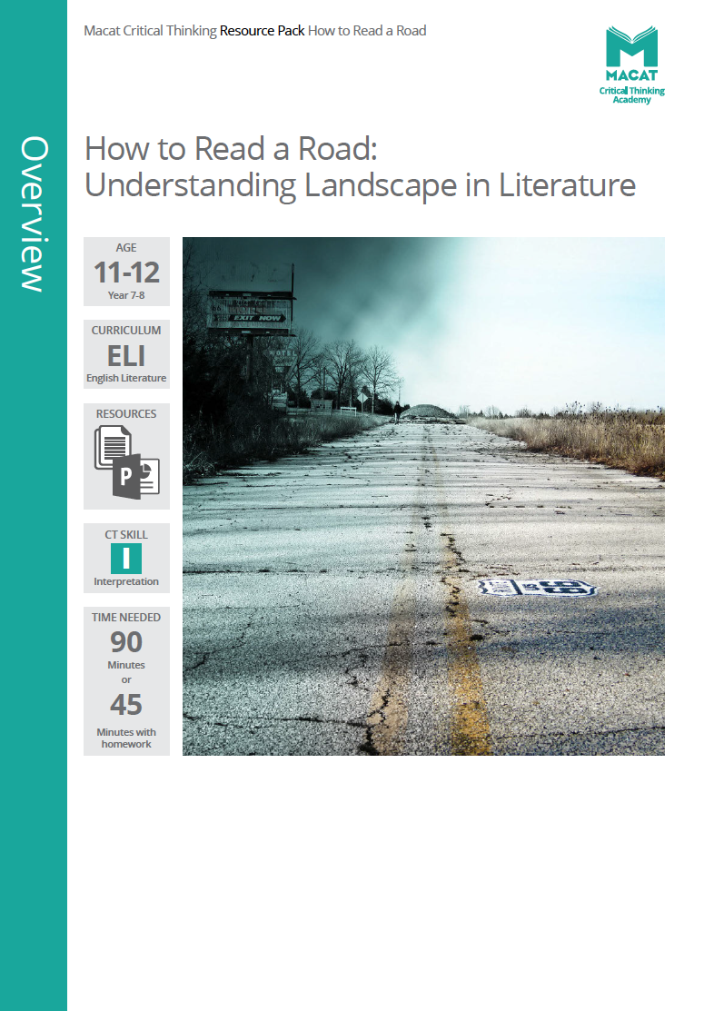English Literature   How to Read a Road: Understanding Landscape in Literature   Download >