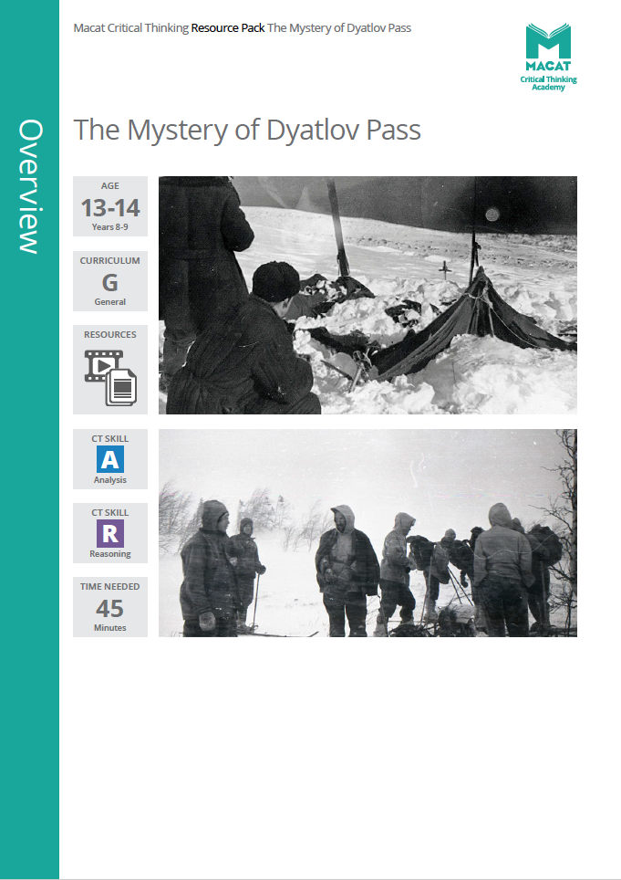 General   The Mystery of Dyatlov Pass   Download >   Video >