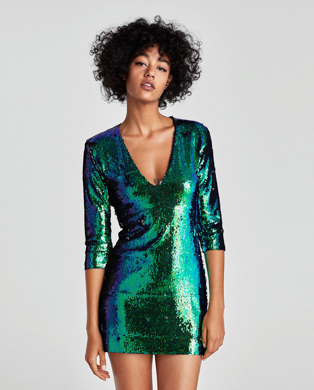 Zara Sequinned Dress - £39.99