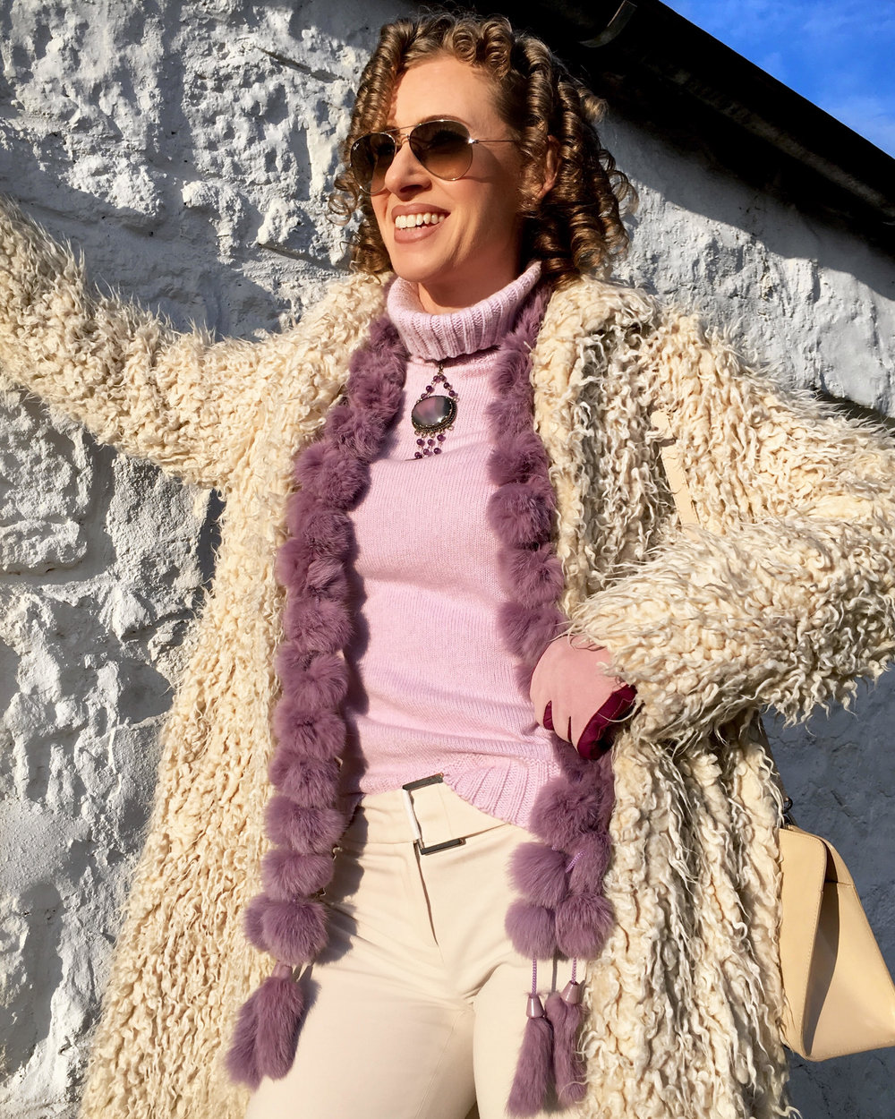 Lilac Sweater and Sheep coat.jpg