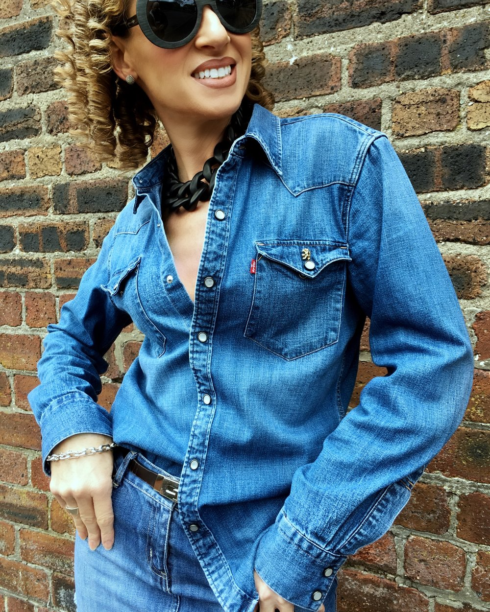 Double Denim Shirt and Skirt close up.jpg
