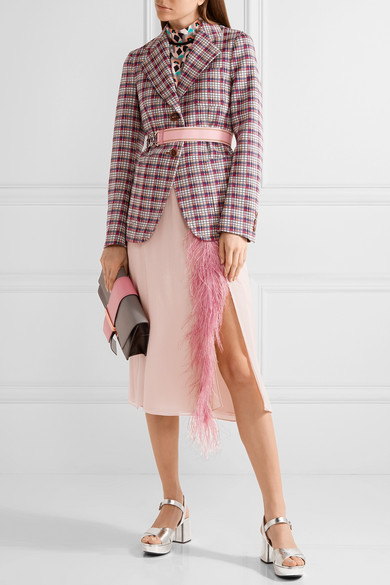 Prada Feather Skirt.jpg