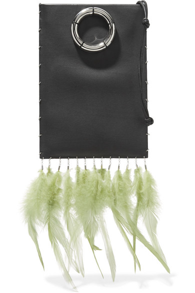 THe Row_green feather bag.jpg