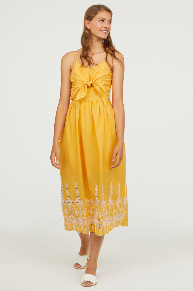 HM Yellow midi dress.jpg