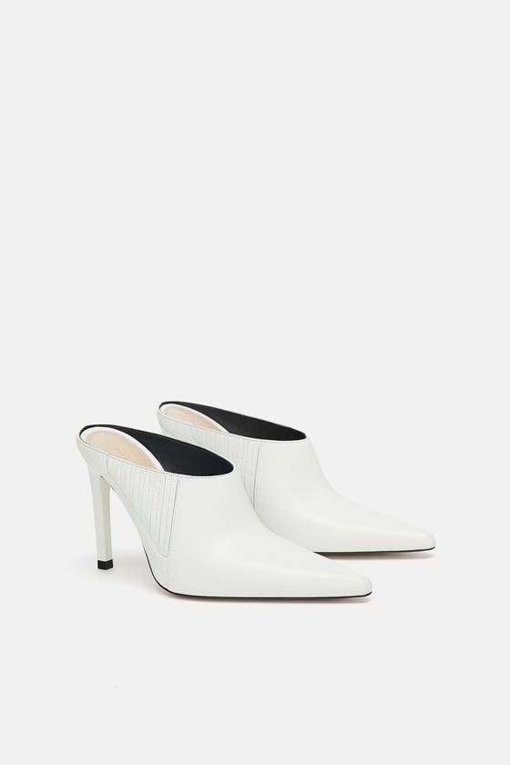 Zara White Mules.jpg