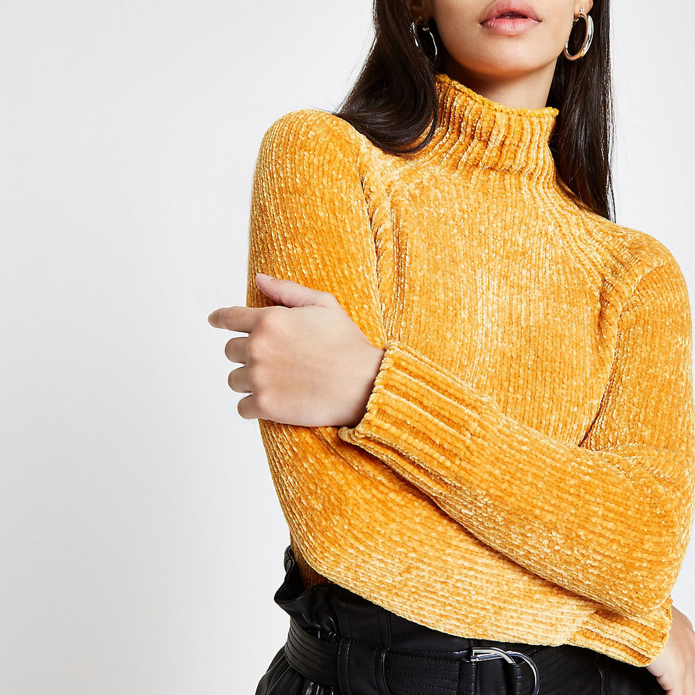 River Island Yellow Sweater.jpg