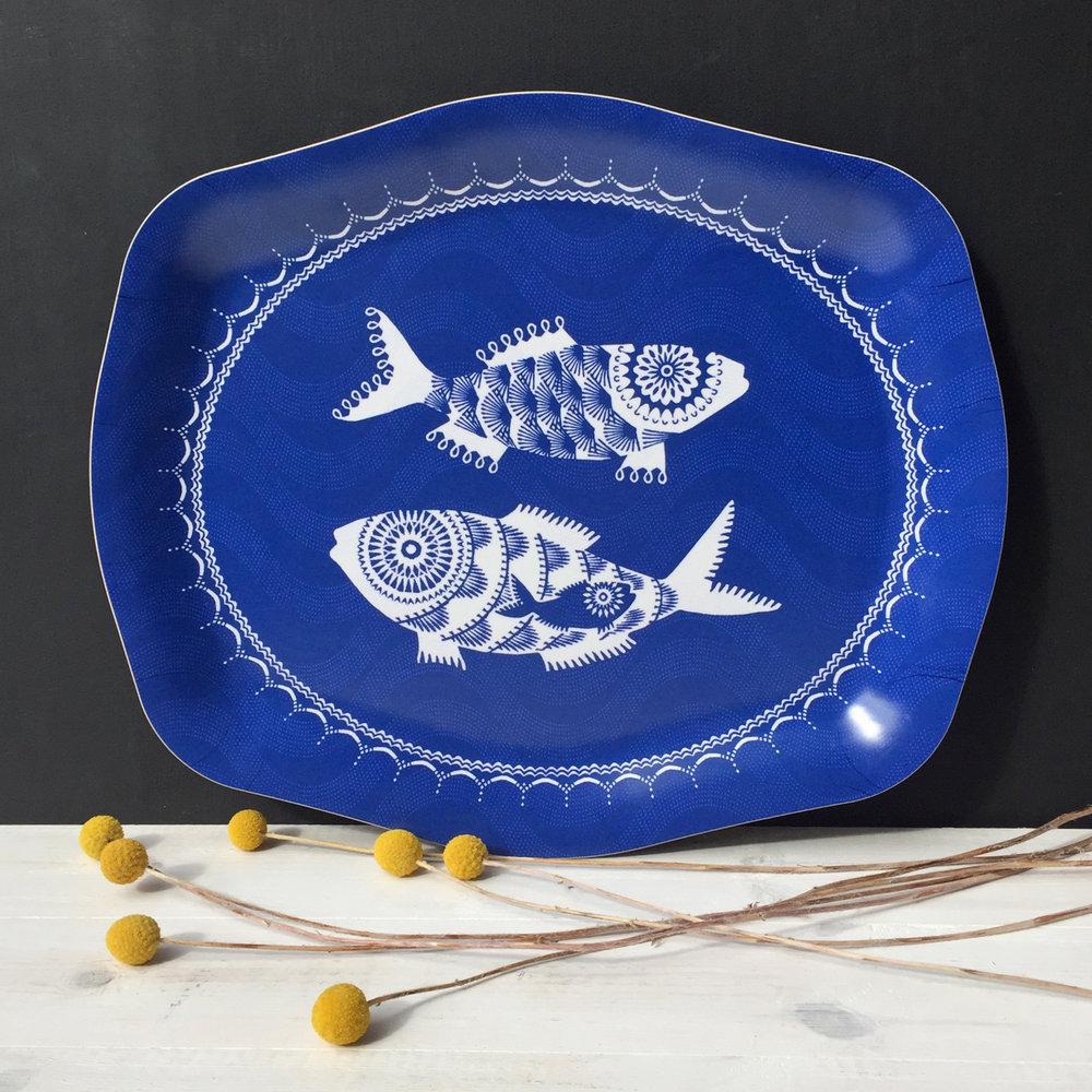 Jamida Asta Barrington Shoal of Fish rococo tray4.jpg