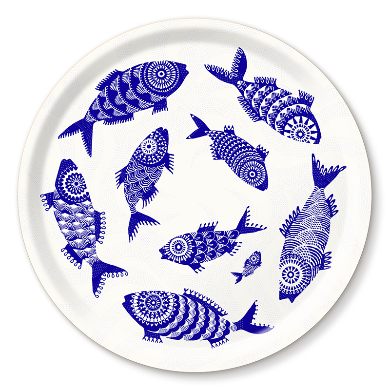 Shoal of Fish, Blue