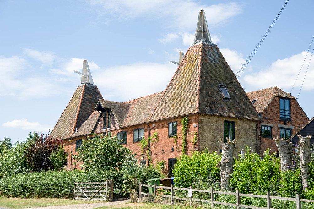 Converted former Oast House, Kent
