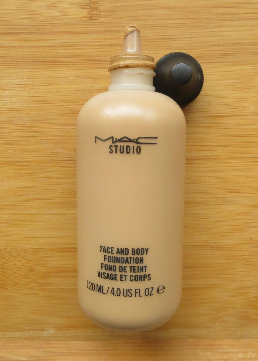 Studio Face & Body Foundation - An ingenious product. It is another emollient one, that does not dry my skin out and feels comfortable, which is quite a feat. It is sheer in coverage but you can definitely layer this one. You can use a brush but if you rub the foundation between your fingers it will turn into a cream that I then pat onto my skin (like when you whip double cream, it will suddenly change consistency). If you have seen the video of Mary Greenwell slapping a model's face with this, it's the same principle of working the product - but less violent. I also use this to cover leg scars by applying directly onto the skin and rubbing it in. It is hard to find a moisturising foundation that doesn't just slide off and is buildable, this really is an amazing product. It comes in a squeezy nozzle bottle that, quite frankly, all foundations should come in. The only issue is with shades as there are 12 to choose from and I believe it is designed to be mixed to customize to your shade but that makes it more expensive and doesn't mean you will be able to create a shade deep enough (there is a white version but not a deep dark brown one). I use C6 which could be too light in the summer but I can deepen it with my Nip + Fab Foundation Dark Mixer.