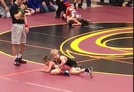 Beckett wrestle.JPG