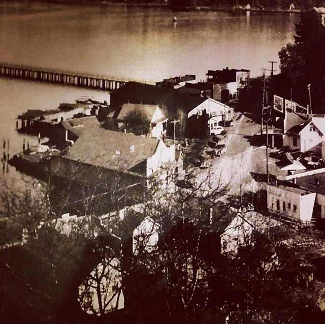 Vintage Port Orchard! This is the view from my land listing, many years ago! PC:@whiskeygulchcoffeepub