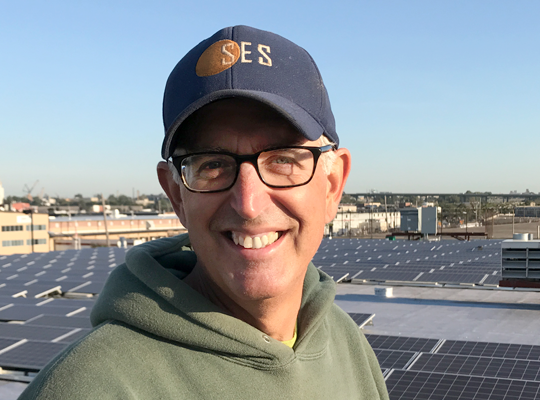 Mark Groh solar construction manager
