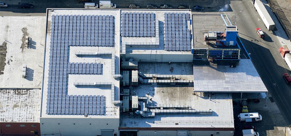 Location: Brooklyn, NY System Size: 122.39 kW