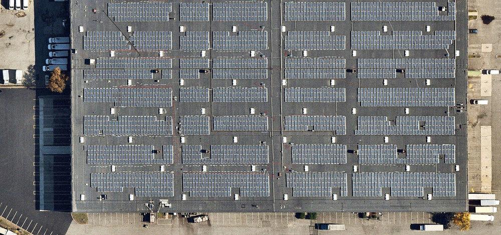 Location: Secaucus, NJ System Size: 1,233.72 kW