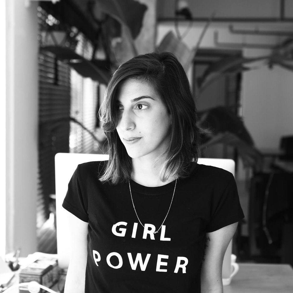 Alona Nof - Art Director at Lemur Creatives. Loves to mix worlds together. One main inspiration? Chocolate.