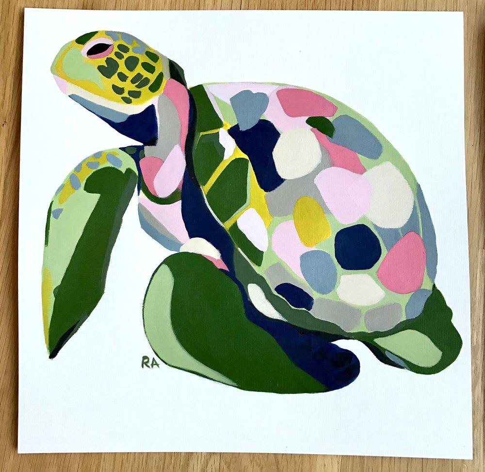 Sea Turtle (Commission)