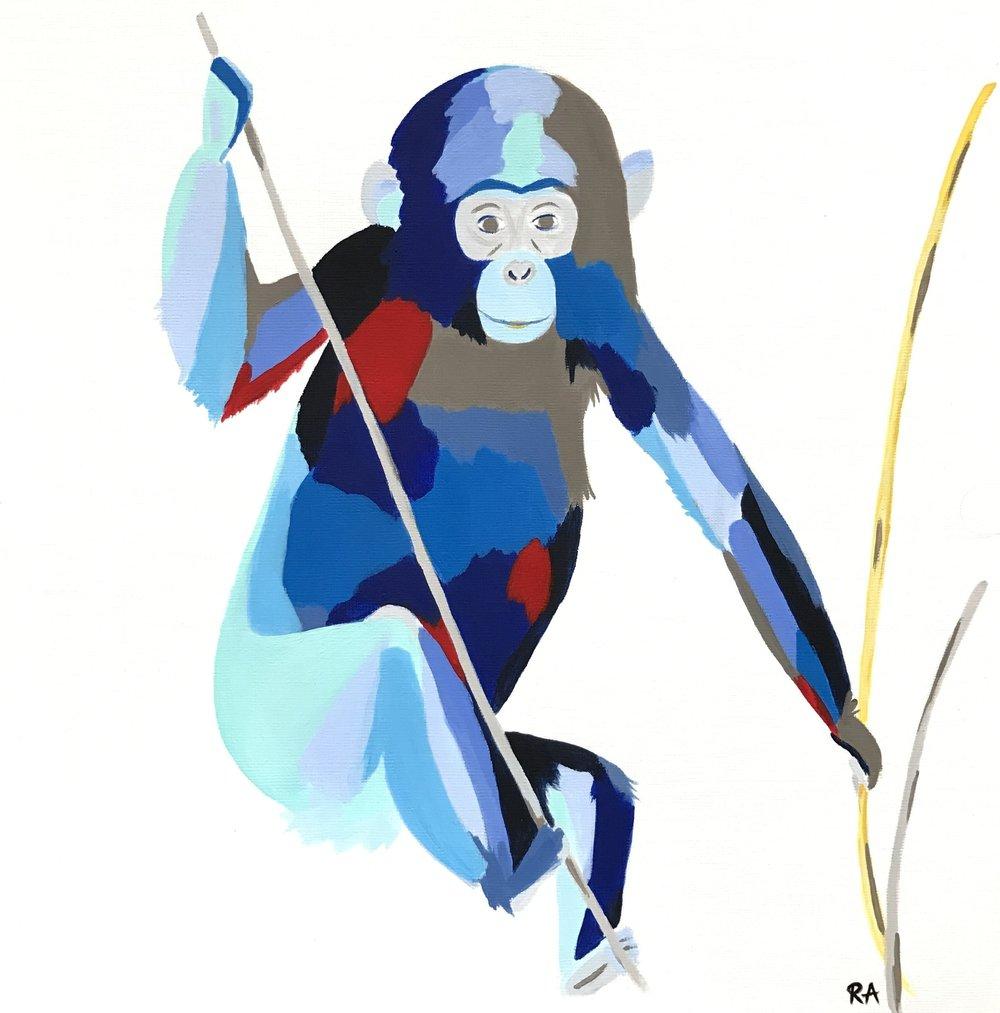 Chimp (Commission)