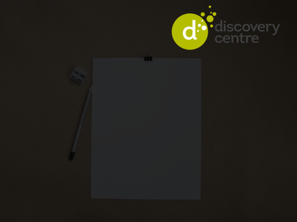 The Discovery Centre - Graphic Design