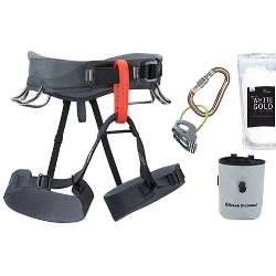 This climbing package is probably the best value for your money, considering you get everything you need except shoes in one purchase.