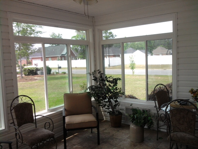 From a screen room to a sunroom; bring the outside in with some awesome views.