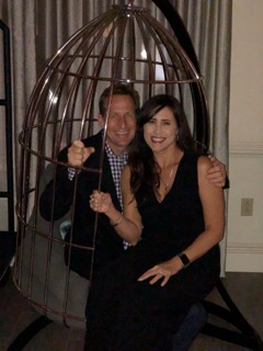 Just hangin in a Birdcage