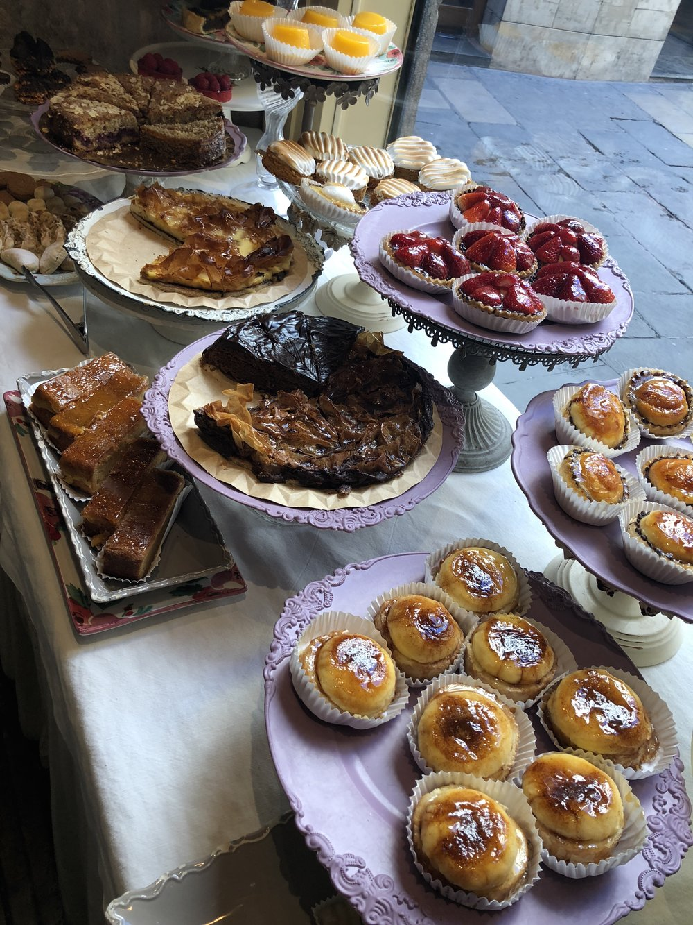 pastries at Caelum