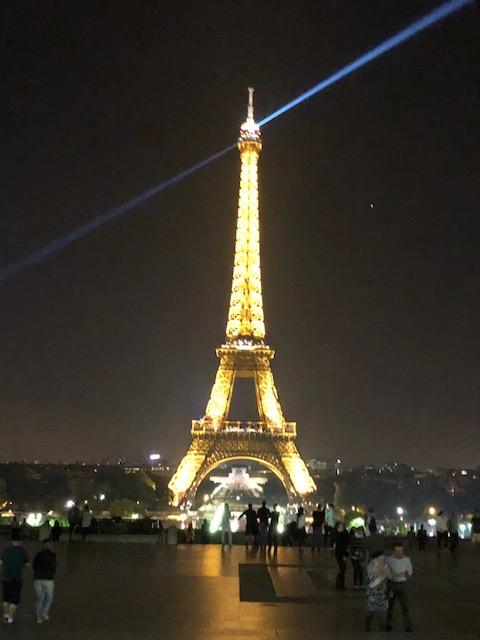 Paris at night...