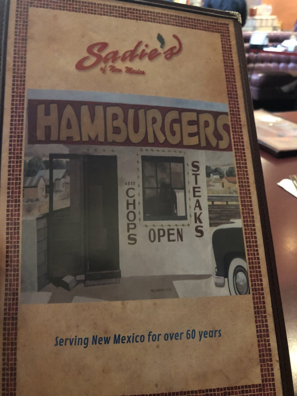 Sadie's, an Albuquerque institution