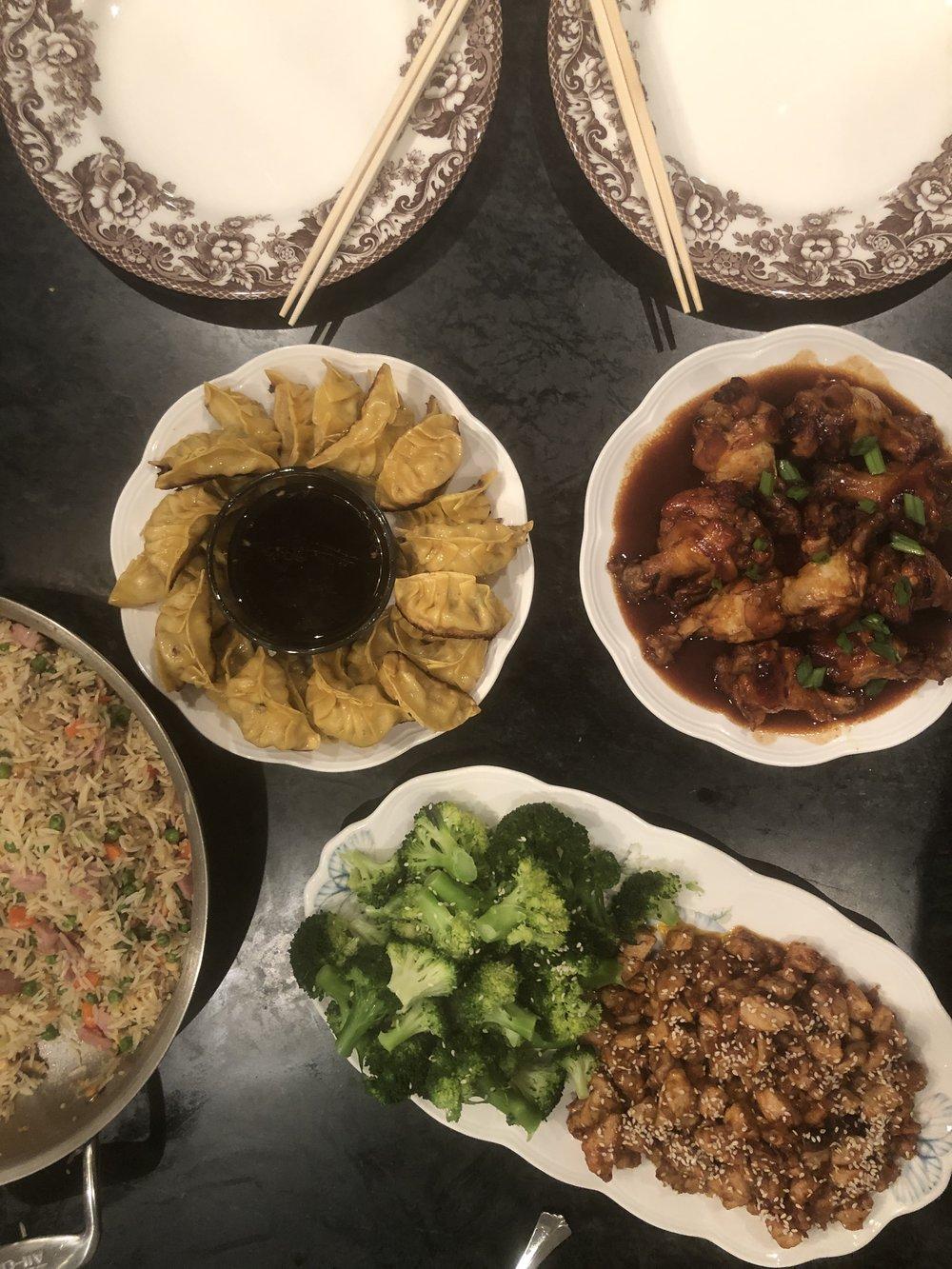 Asian Feast 1.5.19