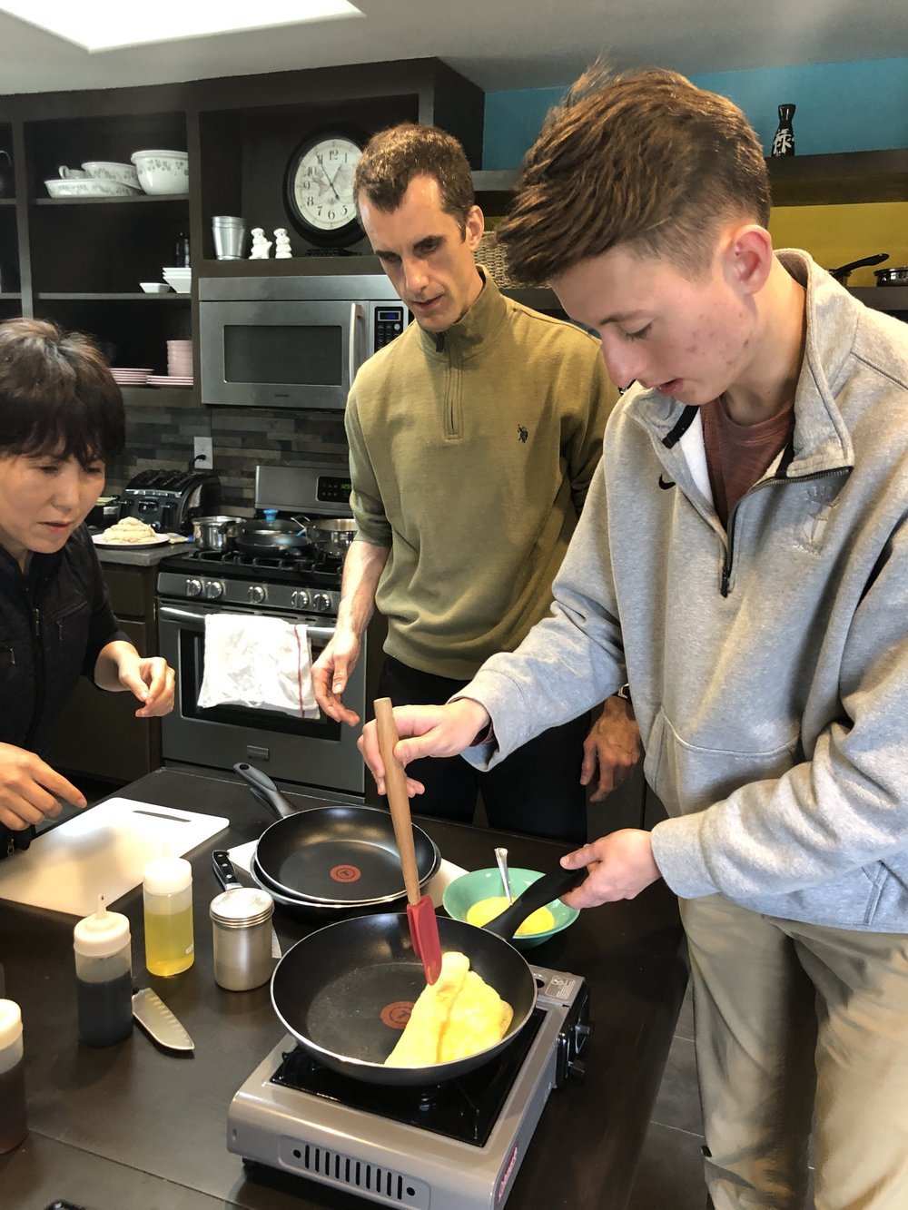 Korean Cooking Class 12.22.18