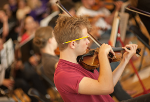 Get Involved - Our programs provide dynamic orchestra and chamber music experiences for students in grades 5 through 12. All students who have not yet graduated from high school and who play violin, viola, cello, or bass are encouraged to audition.