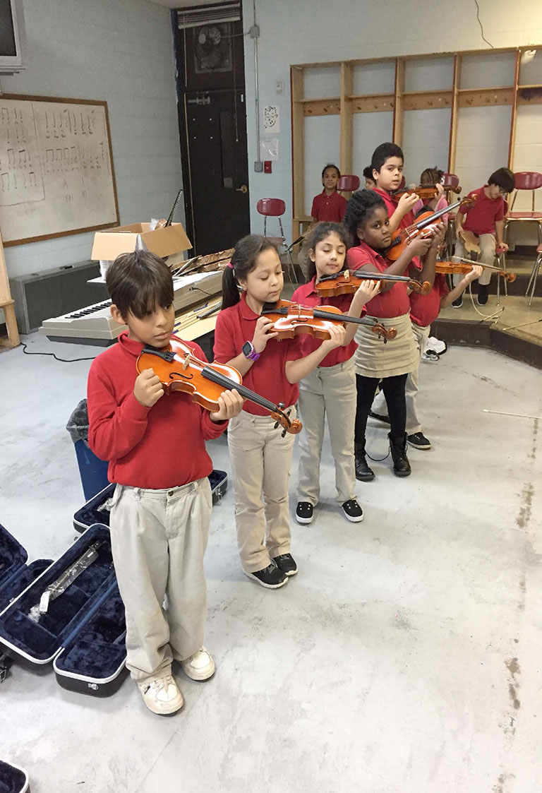 Smithson Craighead Academy - Level 2 Violin Students 2nd Grade