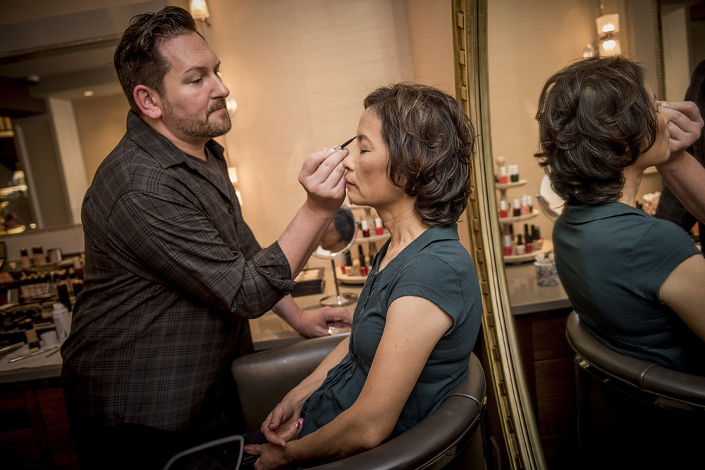 Get make up ready at our Spa - FotoImpressions