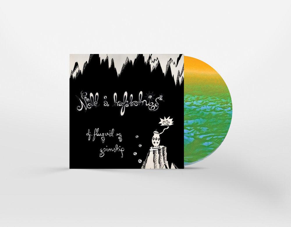 Nótt á hafsbotni - dj.flúgvel og geimskip (CD)