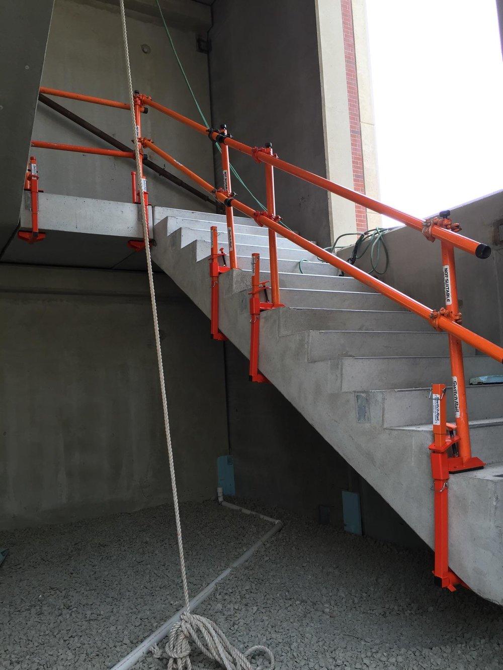 Stair Rail System Switch Rail