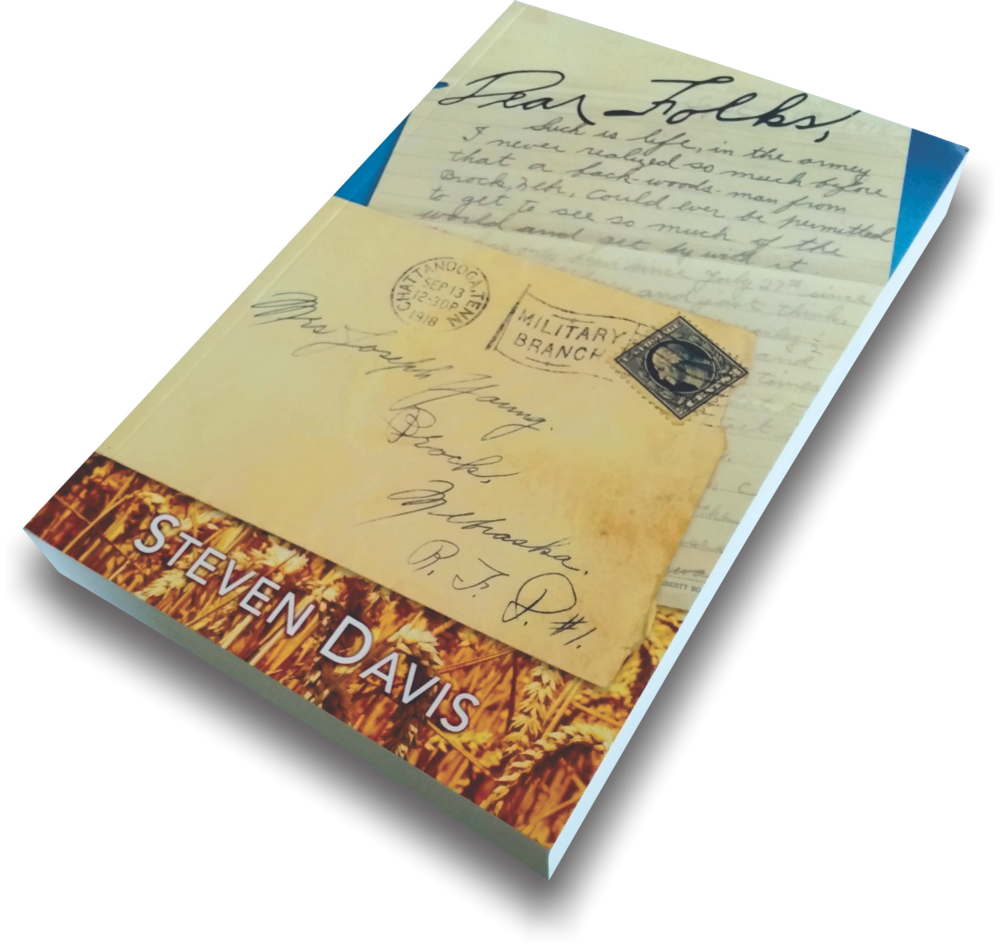 Dear Folks, - What would you do if you found your grandfather's letters, photos, and memorabilia collection in the attic?Steven Davis answers this question with his first novel Dear Folks.