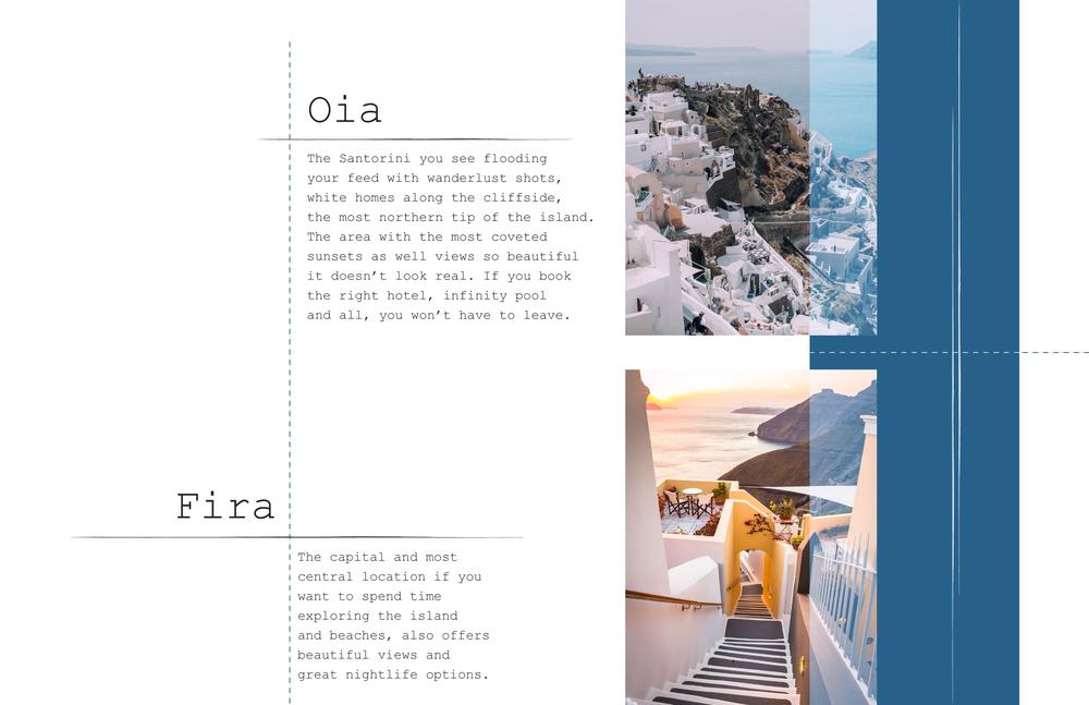 The best neighborhoods in Santorini