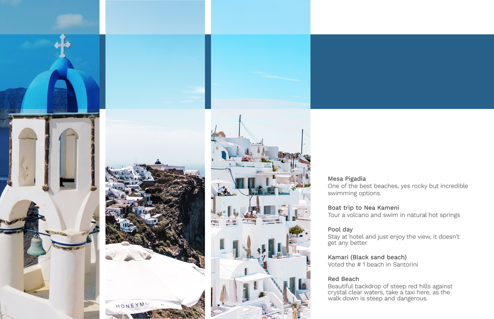 The best things to see while in Santorini