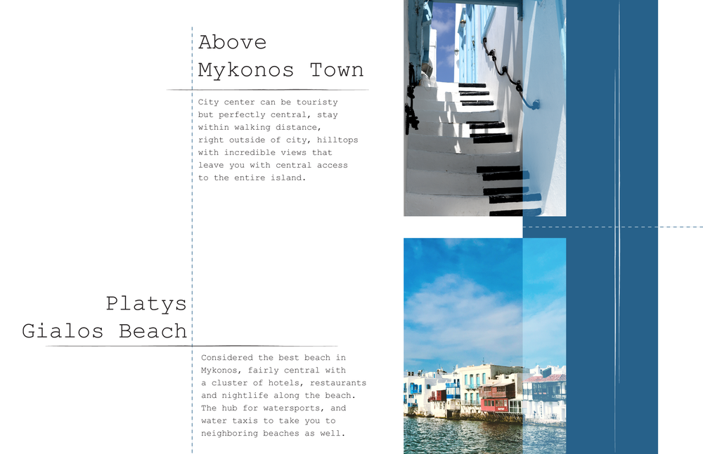 The best neighborhoods in Mykonos