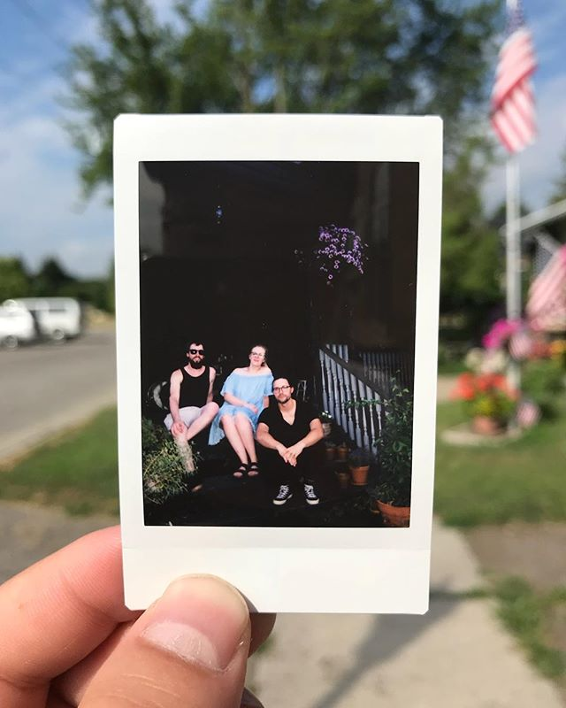 Toledo, you've been a gem to us. Playing another show with @chloethehippie tonight at the Art and Performance Center of West Toledo! Music starts at 6! $5 at the door!