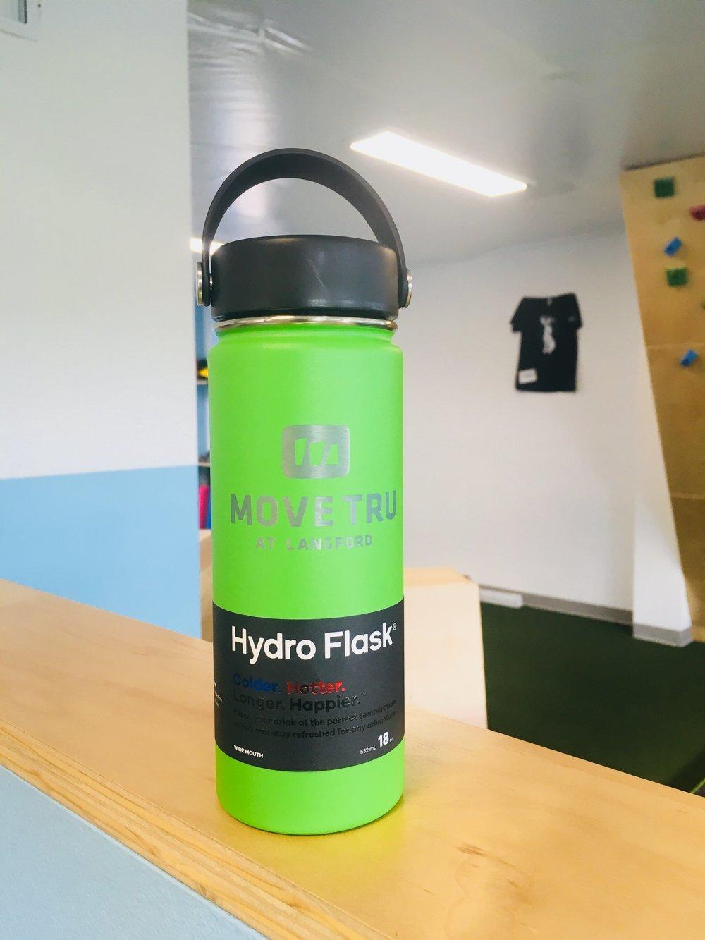 The MoveTru Hydroflask - Won by: Brenda