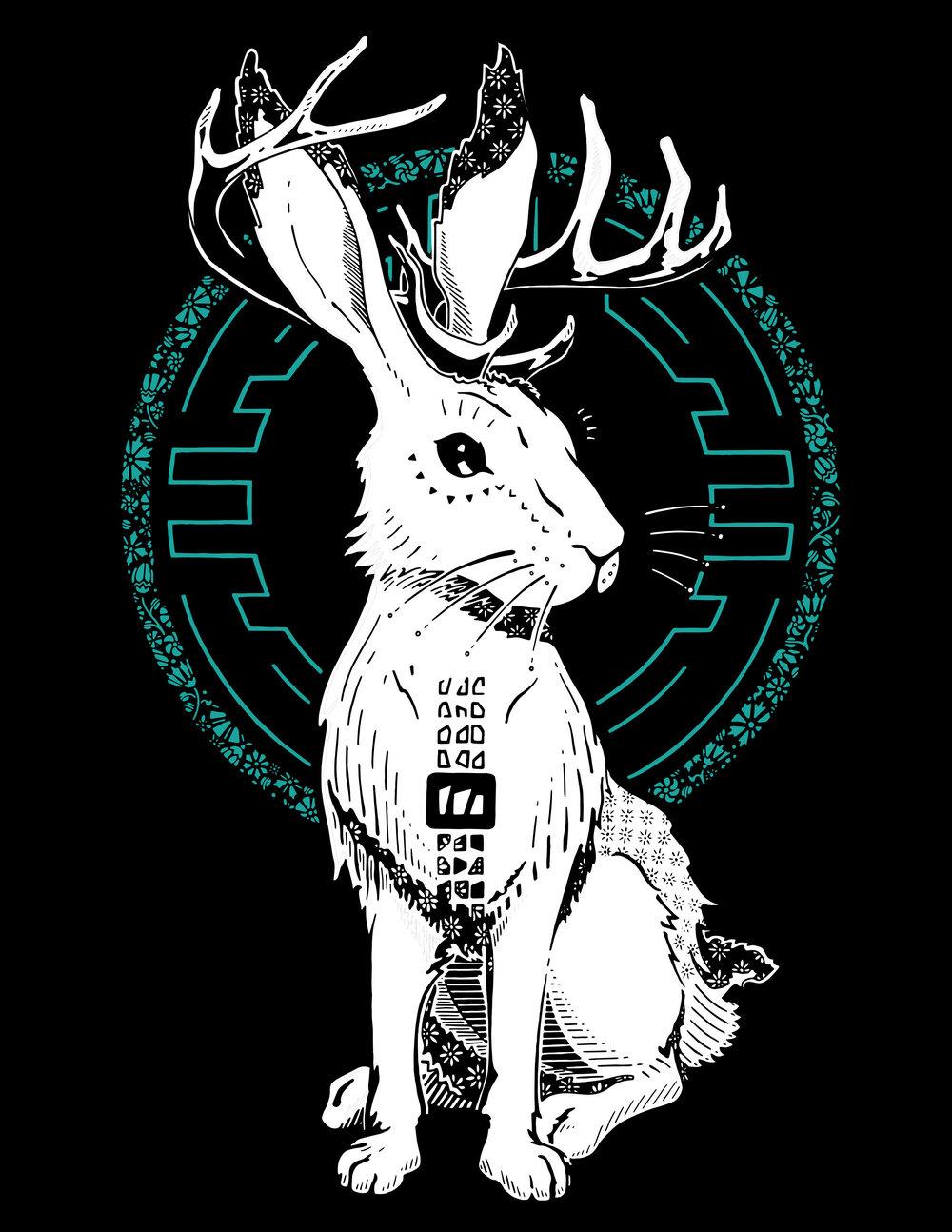 MoveTru Jackalope T-shirt - Won by: Kelsey