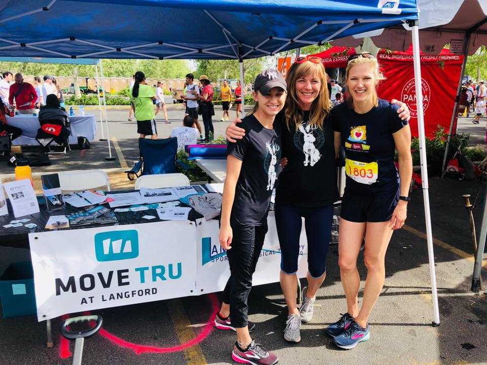 Run for the Zoo 2018 MoveTru booth MovNat