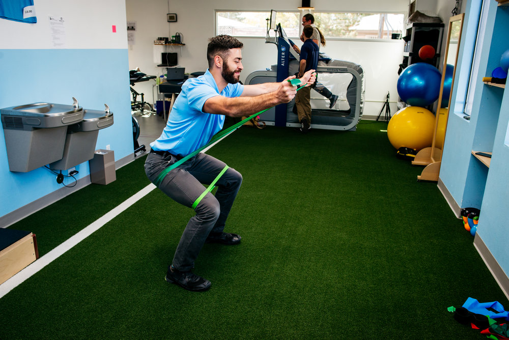 Langford Albuquerque physical therapy ski strength