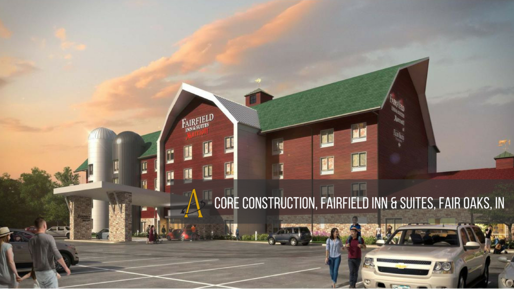 Core Construction, Fairfield Inn & Suites, Fair Oaks, IN