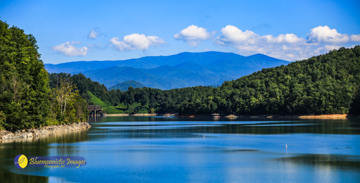 Fontana Lake View -- Photographer - Dale R. Carlson