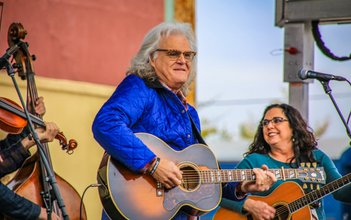 Ricky Skaggs & Sharon White - Photo by Dale R. Carlson